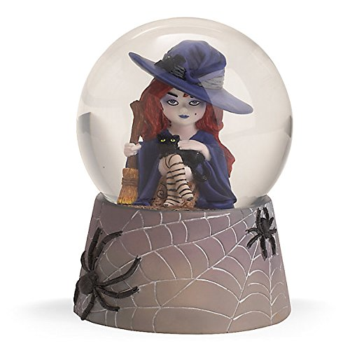 Halloween Winnie the Witch Water Globe