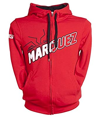 Sudadera MARC MARQUEZ ORIGINAL 100% Color: ROJO (S)