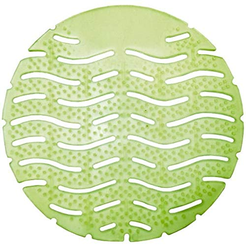 Fresh Products - Urinal Screen - Green, Herbal Mint Scent - 10 Pack/Case (5 Cases)