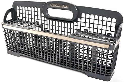 Lifetime Appliance W10190415 Silverware Basket for Whirlpool Kenmore Dishwasher WPW10190415