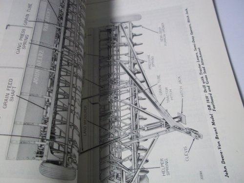 John Deere Van Brunt Grain Drill Model DR OMM34355 Operator's Manual