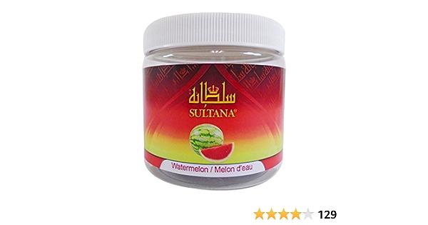 Sultana - Pipa de agua para shisha, sin tabaco, sin nicotina, 250 gramos