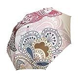 Compact Travel Umbrella Auto Open Close Handle