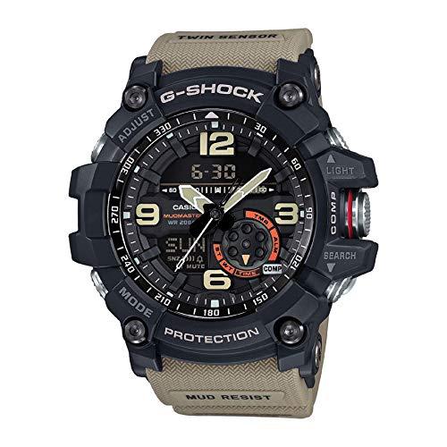Casio 2018 GG1000-1A5 Watch G-Shock Mudmaster Twin Sensor (Extra Large G Shock Watches)