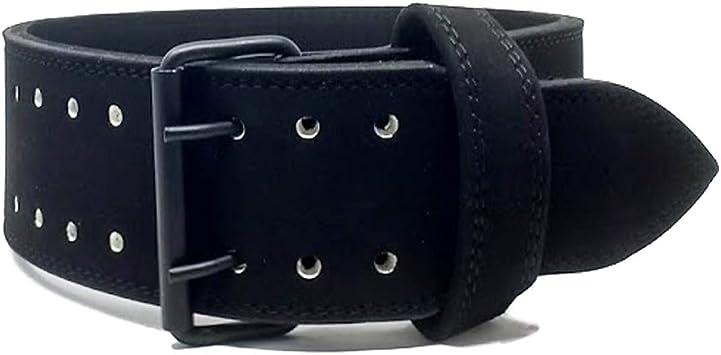 Strengthshop - Cinturón de Tres Pelotas (10 mm, con Hebilla Negra ...