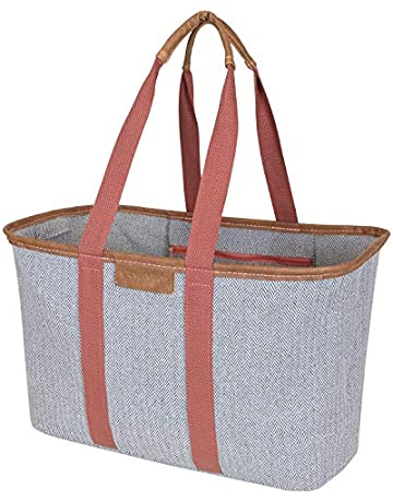3deccdf5e85 Save on CleverMade SnapBasket LUXE - Reusable Collapsible Durable Grocery  Shopping Bag with Reinforced Bottom -