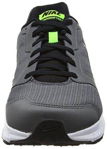 Nike Downshifter 6 - Zapatillas de entrenamiento Hombre Gris (Dark Grey / Black Elctrc Grn Wht)