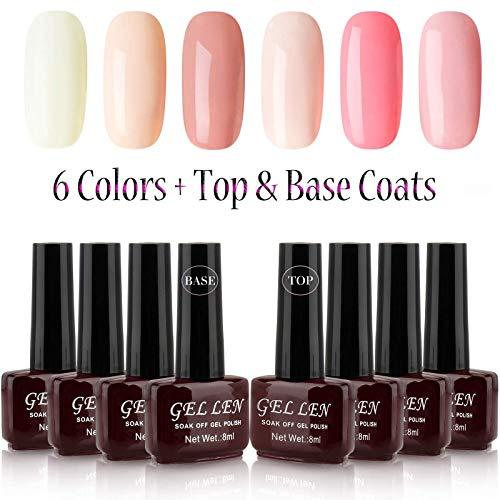 Gellen UV Gel Nail Polish New Trend 6 Co...