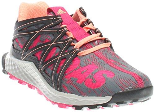 check out eca13 fbf1d adidas Performance Women s Vigor Bounce w Running Shoe, Bold Pink Black Sun  Glow