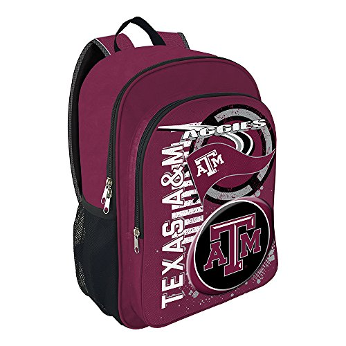The Northwest Company NCAA Texas A&M University Accelerator Backpack, One Size, (Texas A&m Aggies Backpack)