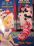 Disney Alice in Wonderland Coloring and Activity Book ~ Hello, Hello!