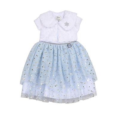 bb5b8f700bc7 Amazon.com: Disney X Pippa & Julie Elsa Shrug Dress: Clothing