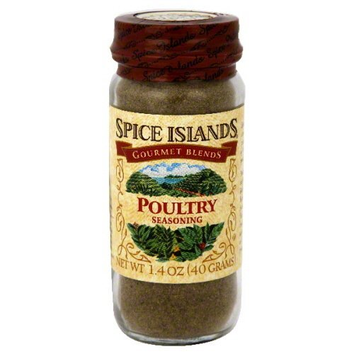 Spice Islands Poultry Seasoning 1.4 oz - Pack of 3