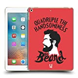 Head Case Designs Go Beard Bearded Bravado Hard Back Case for Apple iPad Pro 2 9.7 (2017)