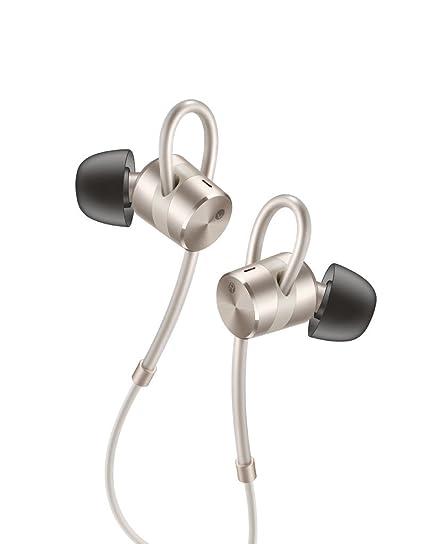 Huawei AM185 Dentro de oído Binaural Alámbrico Oro - Auriculares (Alámbrico, Dentro de oído