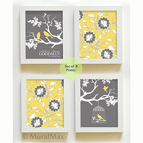 MuralMax Personalized Family Floral Unframed product image