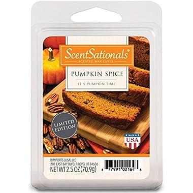 ScentSationals Pumpkin Spice Fragrance Wax Cubes