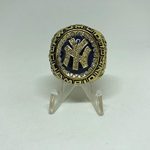 (1998 New York Yankees Andy Pettitte World Series High Quality Replica Ring Size 11-Gold Colored)