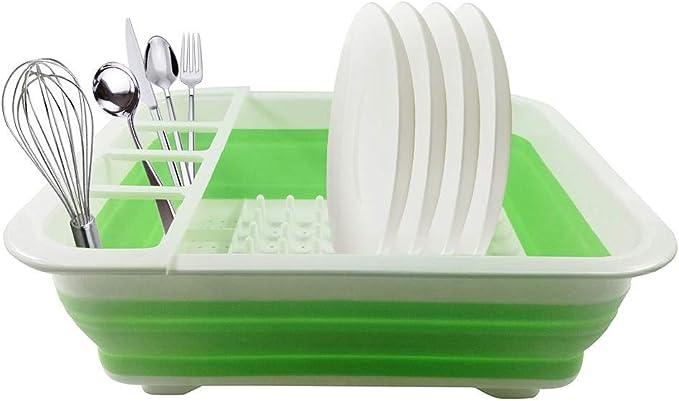 Supporto pieghevole da cucina per spaghetti 1 pezzo MechWares Scolapiatti pieghevole in plastica per uso alimentare