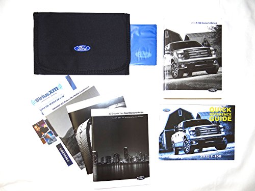 (2013 F-150 Truck Owner's Manual with Case)