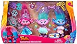 DreamWorks Trolls Poppy and Twins Celebration Pack - Contains over 20 Fashion Pieces