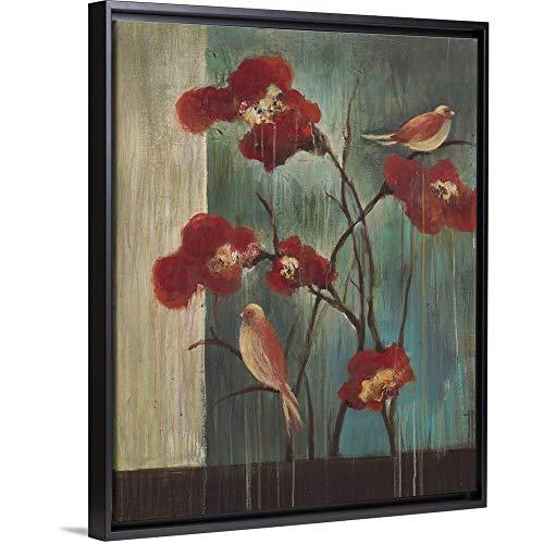 Peaceful Sanctuary Black Floating Frame Canvas Art, 26