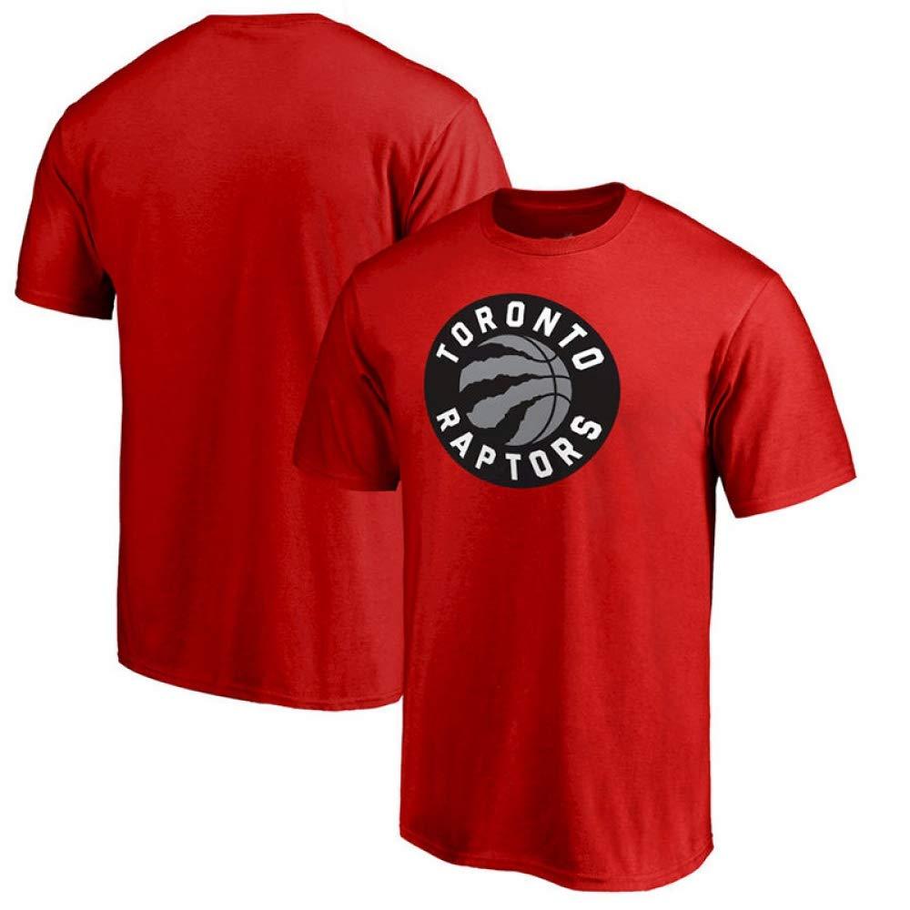 LXY-Sports T-Shirt NBA Toronto Raptors Jersey da Uomo T-Shirt Scollo Rotondo Casual S 3XL Rossa