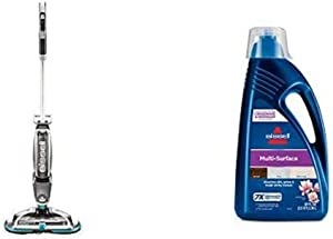 Bissell Spinwave, 2307 Cordless Hard Mop, Wood Floor Cleaner and Buffer, 1789G MultiSurface Floor Cleaning Formula for Crosswave and Spinwave (80 oz)