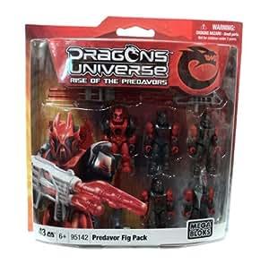 Dragons Universe Mega Bloks Set #95142 Predavor Fig Pack [Toy]