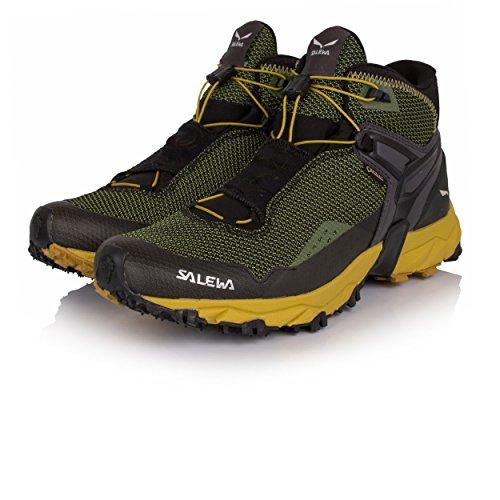 Salewa Ultra Flex Mid Gore-TEX Mountain Training Shoes - 8.5 - Black