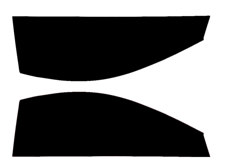 2003-2012 Rear Kit in 5/% Limo Pre Cut Car Window Tints Fiat Panda 5 Door MPV