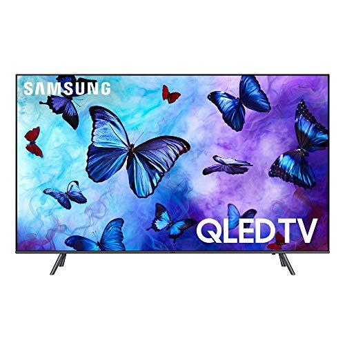 Samsung 4K Ultra HD QLED Smart TV, Black, 55 inches (Renewed)