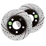 #10: Approved Performance G23934R GXP - [Rear Pair] Premium Performance Drilled and Slotted Disc Brake Rotors