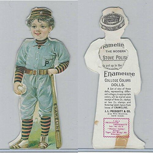 Victorian, 1890's, Prescott Enameline College Color Dolls, Princeton, ()