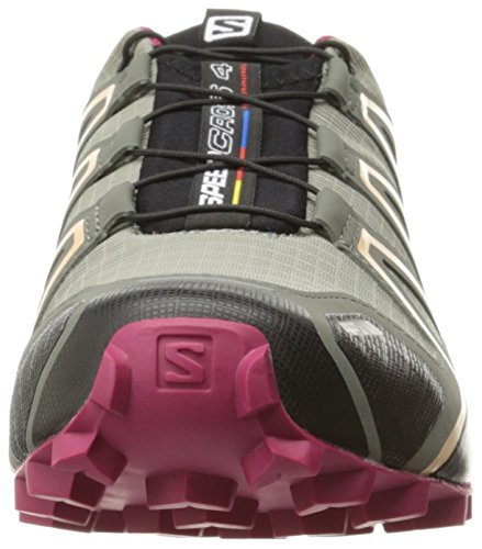 sangria Cs 000 4 Trail shadow Donna peach W Speedcross Nectar Scarpe Grigio Da Salomon Running HPTqRawxZ
