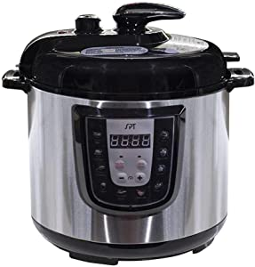 SPT EPC-14D 6-Quart Digital Stainless Steel Electric Pressure Cooker