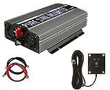 Automotive : Power TechON PS1005 Pure Sine Wave Inverter (1500W Cont/3000W Peak)