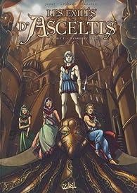 Les exilés d'Asceltis, tome 1 : Messager blanc par Nicolas Jarry