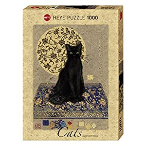 Heye Puzzle Crowther Black Cat 1000 Pezzi Vd 29719