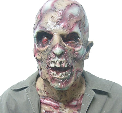 Generic Horrific Biochemical Latex Mask Ideal For Halloween Parties