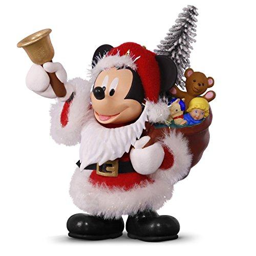 Hallmark Keepsake 2017 Disney Mickey Mouse Here Comes Santa! Christmas Ornament