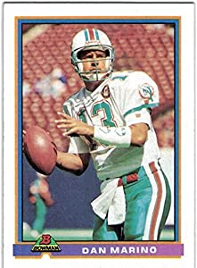 1991 Bowman Miami Dolphins Team Set with Dan Marino - Mark Clayton - Mark Duper - 21 Cards