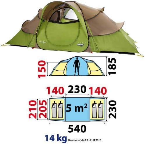 Quechua 8091844 - Tienda de campaña iglú: Amazon.es: Deportes y aire libre