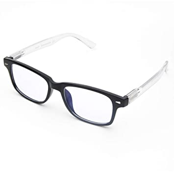 eb93a262c0f Cyxus Blue Light Filter Glasses Anti Eyestrain Block UV (Spring Hinge)  Computer Eyewear Better