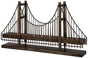 IMAX 12366 Suspension Bridge Candleholder