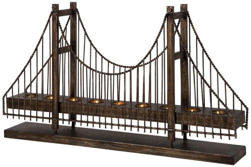 IMAX 12366 Suspension Bridge Candleholder