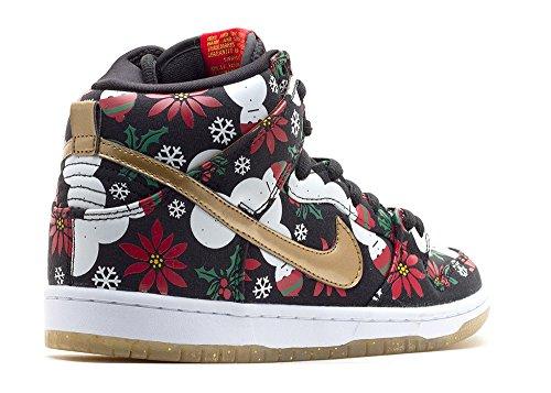 Nike Dunk High SB Prm CNCPTS Ugly Christmas Sweater - 635525-006 -
