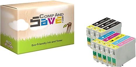 Amazon.com: CompAndSave - Cartuchos de tinta para Epson 77 ...