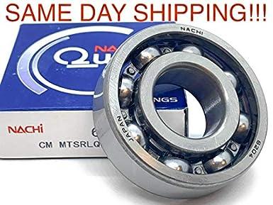 NACHI 6305-NR WITH SNAP RING BEARING 25X62X17 25mm X 62mm X 17mm 6305-NR-OPEN