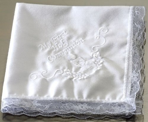 Roman Inc. My First Communion Handkerchief - Boxed Gift Inspirational Holy 41067